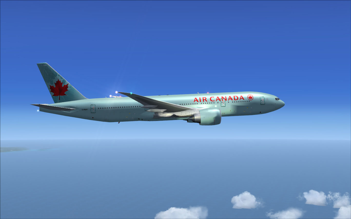 air canada boeing 777 200lr for fsx. Black Bedroom Furniture Sets. Home Design Ideas