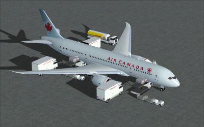 Air Canada Boeing 787-8.