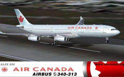 Air Canada Long Haul taking off.