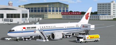 Air China Boeing 787-8.
