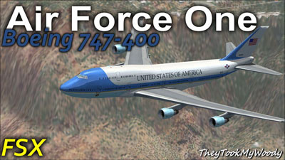 Air Force One 747 for FSX