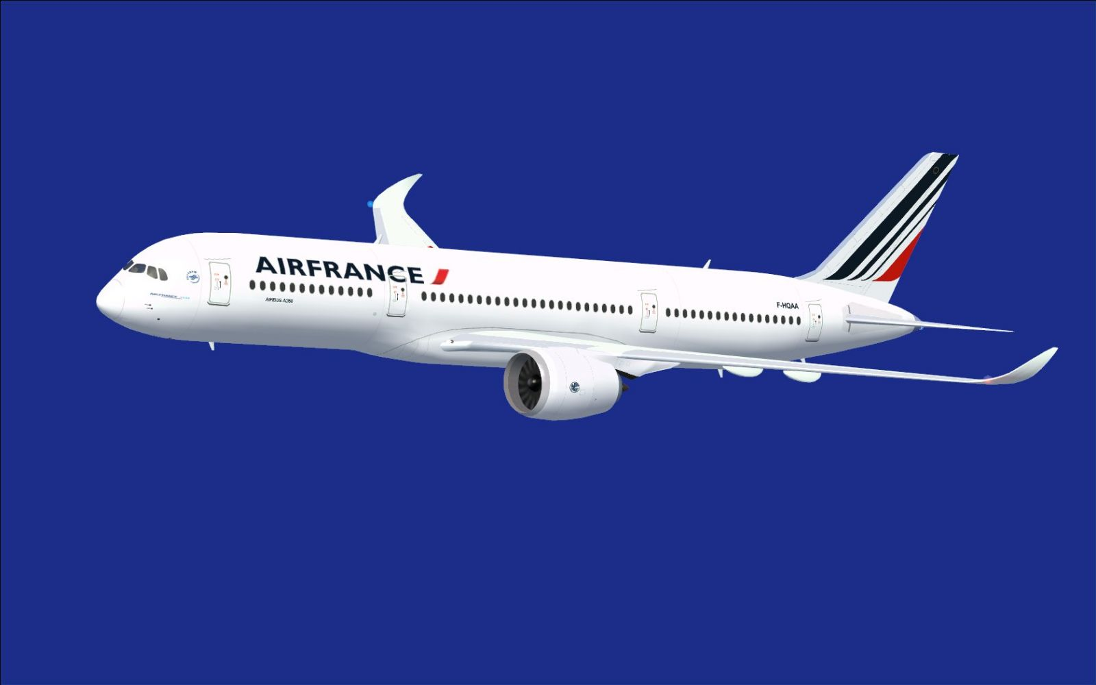 air france airbus a350 800 xwb for fsx. Black Bedroom Furniture Sets. Home Design Ideas