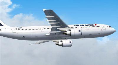 Air France Airbus A300-600R.