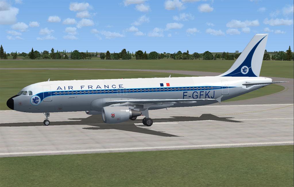 Air france airbus a320 211 for fsx for Airbus a320 air france interieur