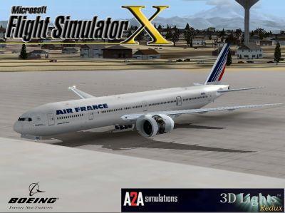 Air France Boeing 777-300.