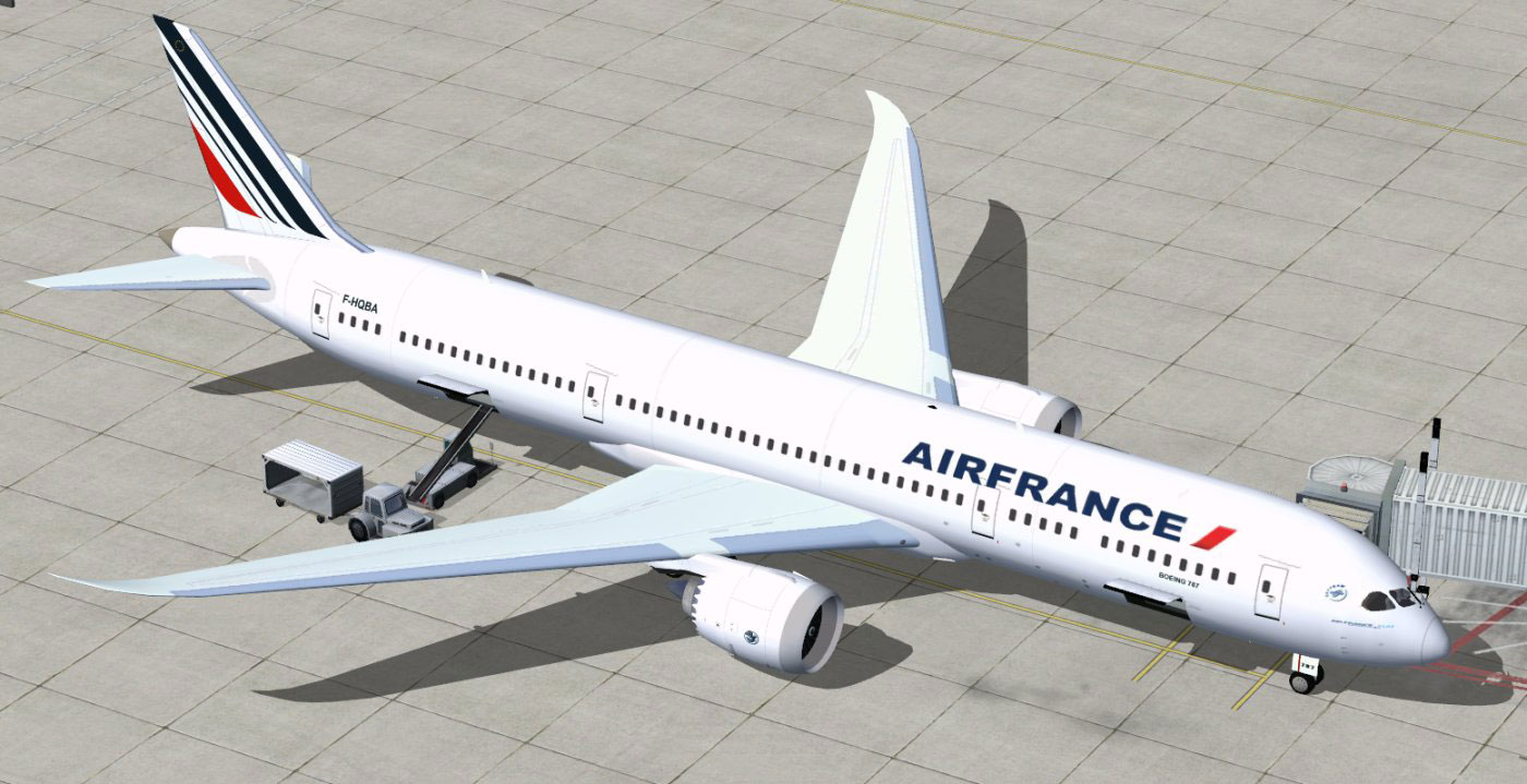 Air France Boeing 787-9 for FSX