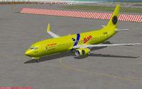Air Maplin Boeign 737-800 on tarmac.