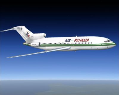 Air Panama Boeing 727-100.
