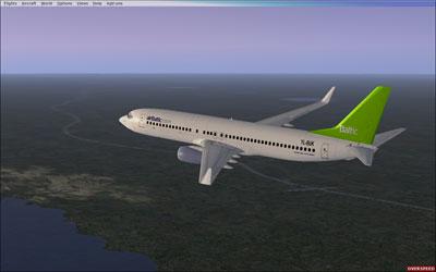 Air Baltic Boeing 737