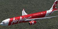 AirAsia X Airbus A330-300.