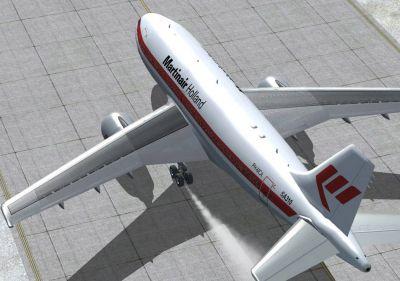 Martinair Holand Airbus A310.