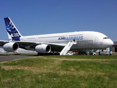 The Airbus A380 at Paris