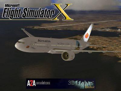 Aircalin Boeing 777-200ER.
