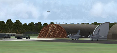 Airfield Construction Group's first scenery package