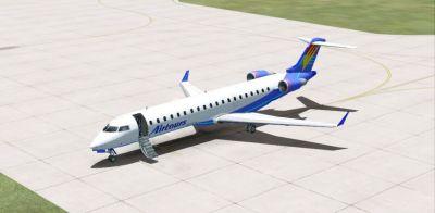 Airtours International Bombardier CRJ700.