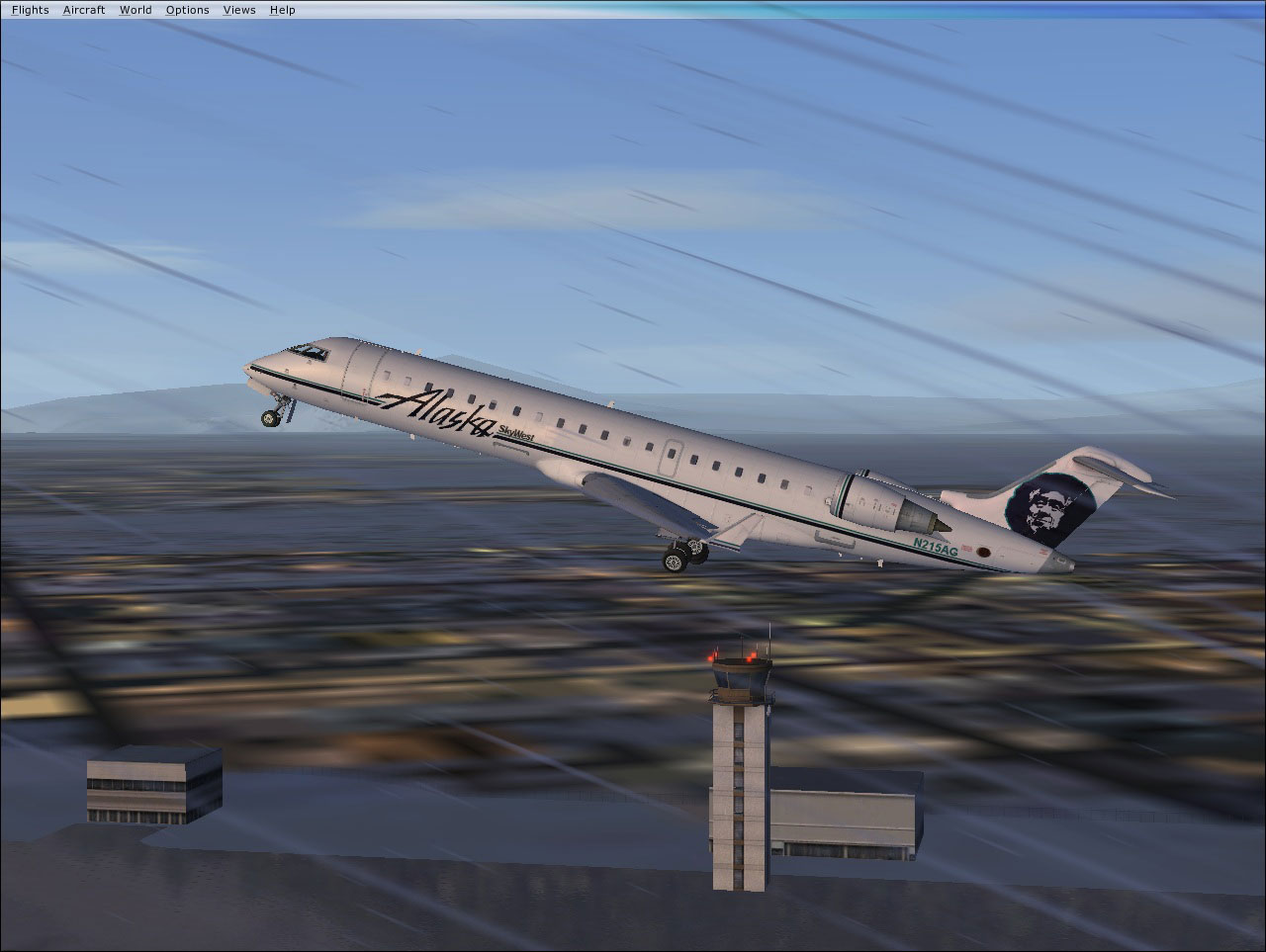 Alaska Skywest Airlines Crj 700 On Runway  Short News Poster