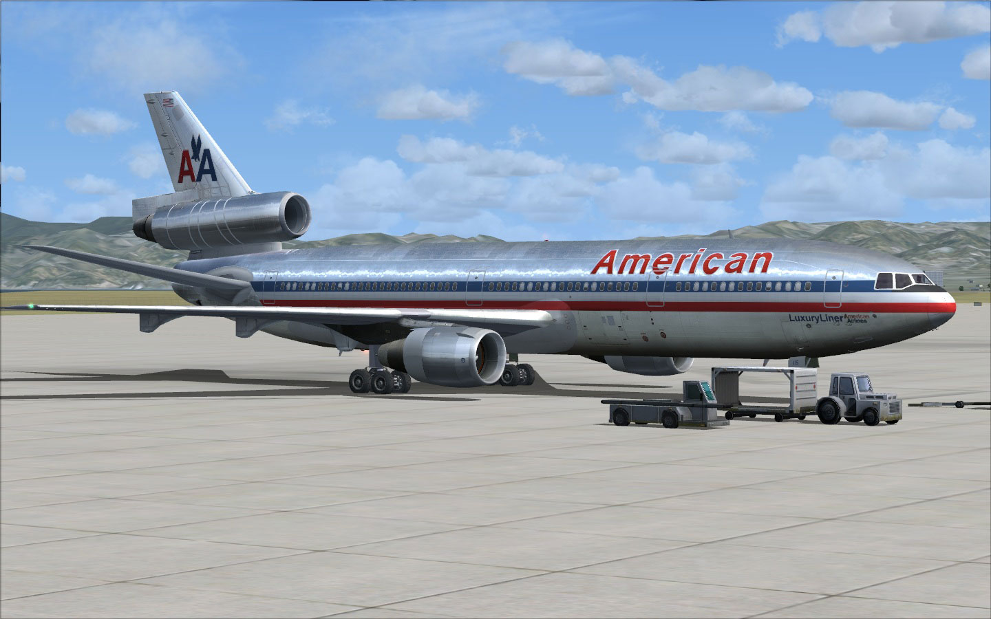 Download this Fsx American Airlines Douglas picture