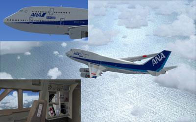 ANA Happy Flight Boeing 747-400