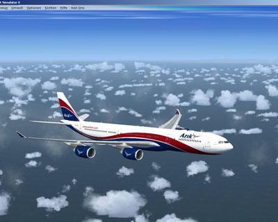 Arik Air Airbus A340 for FSX