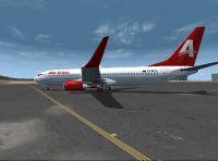Avior Airlines Boeing 737-800 on runway.