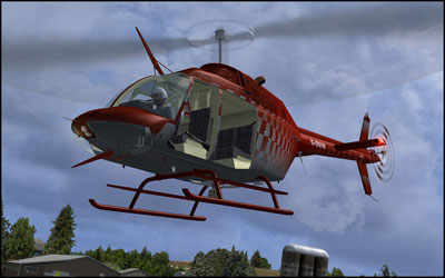 Bell 206 Helicopter for FSX