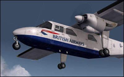 Flight1's BN-2 Islander aircraft add-on for Microsoft Flight Simulator X