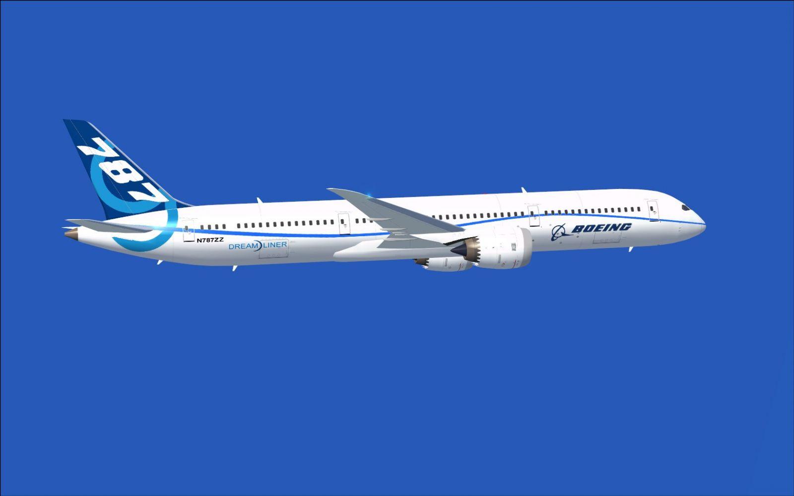 Boeing Flight Test Airplane Airplane