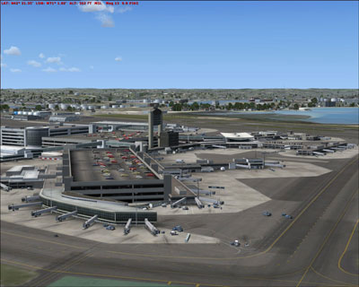 Boston Logan Scenery for Microsoft Flight Simulator X and 2004