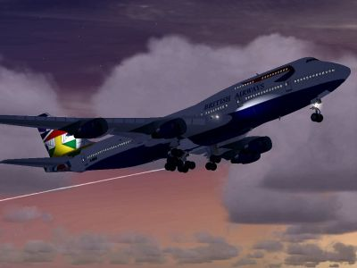 British Airways Boeing 747-400.