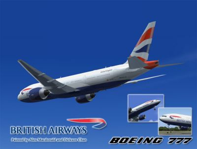 British Airways Boeing 777-236ER.