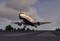 British Airways livery on the Captain Sim 767