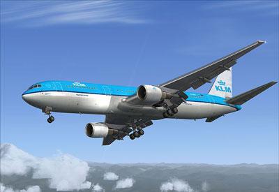 767 Captain in KLM paint