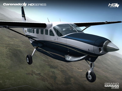 Cessna C208B Grand Caravan by Carenado for FSX