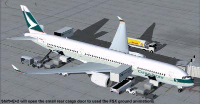 Cathay Pacific Airbus A350-900 XWB.