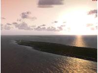 Sunset using Cayman Islands X