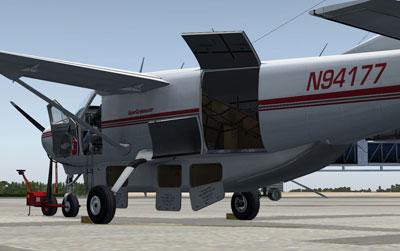 Carenado's Cessna CargoMaster expansion for their Cessna Caravan package FSX
