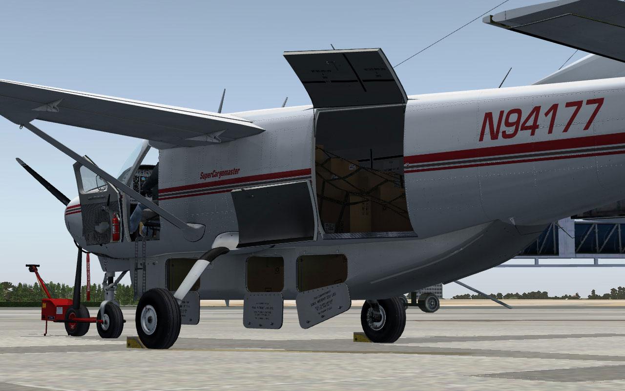 Carenado Cessna 208 Carenado's Cessna Cargomaster