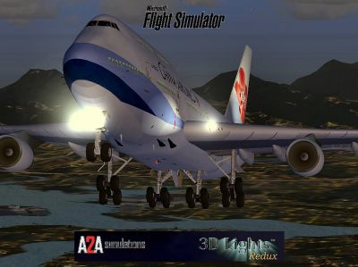 China Airlines Boeing 747-400.