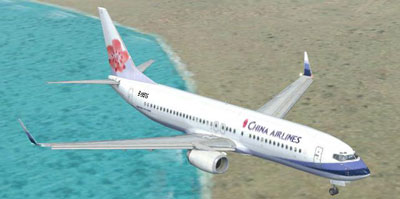 China Airlines Boeing 737-800