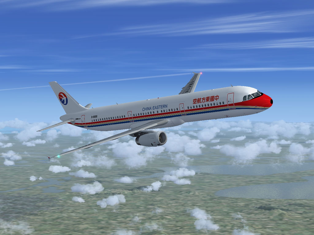 china eastern airbus a321 231 for fsx Flight Update 37 Flight Update 37
