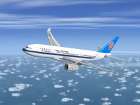 China Southern Airbus A330 Series in flight.