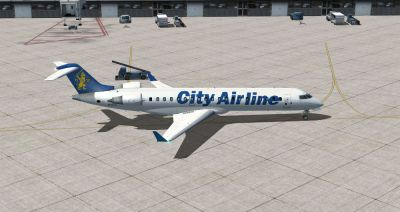 City Airlines Bombardier CRJ700.
