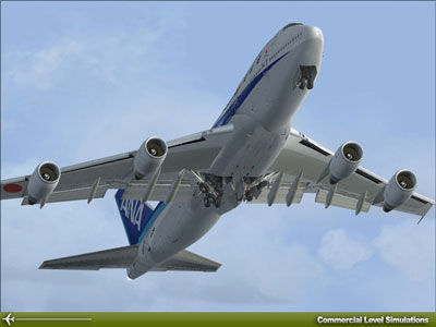 CLS Boeing 747 add-on package for Microsoft Flight Simulator X and 2004.