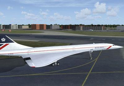 Britische Fluggesellschaften Concorde