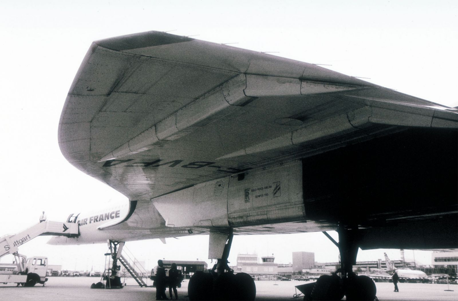 Concorde wing profile