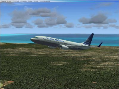 Copa Airlines Boeing 737-800.