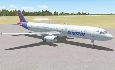 Cubana Airlines Airbus A321.