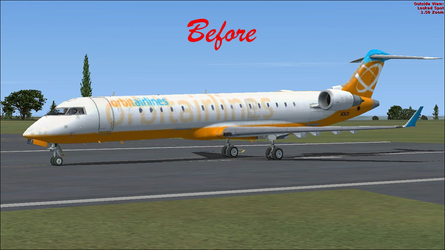 Bombardier CRJ 700 FSX