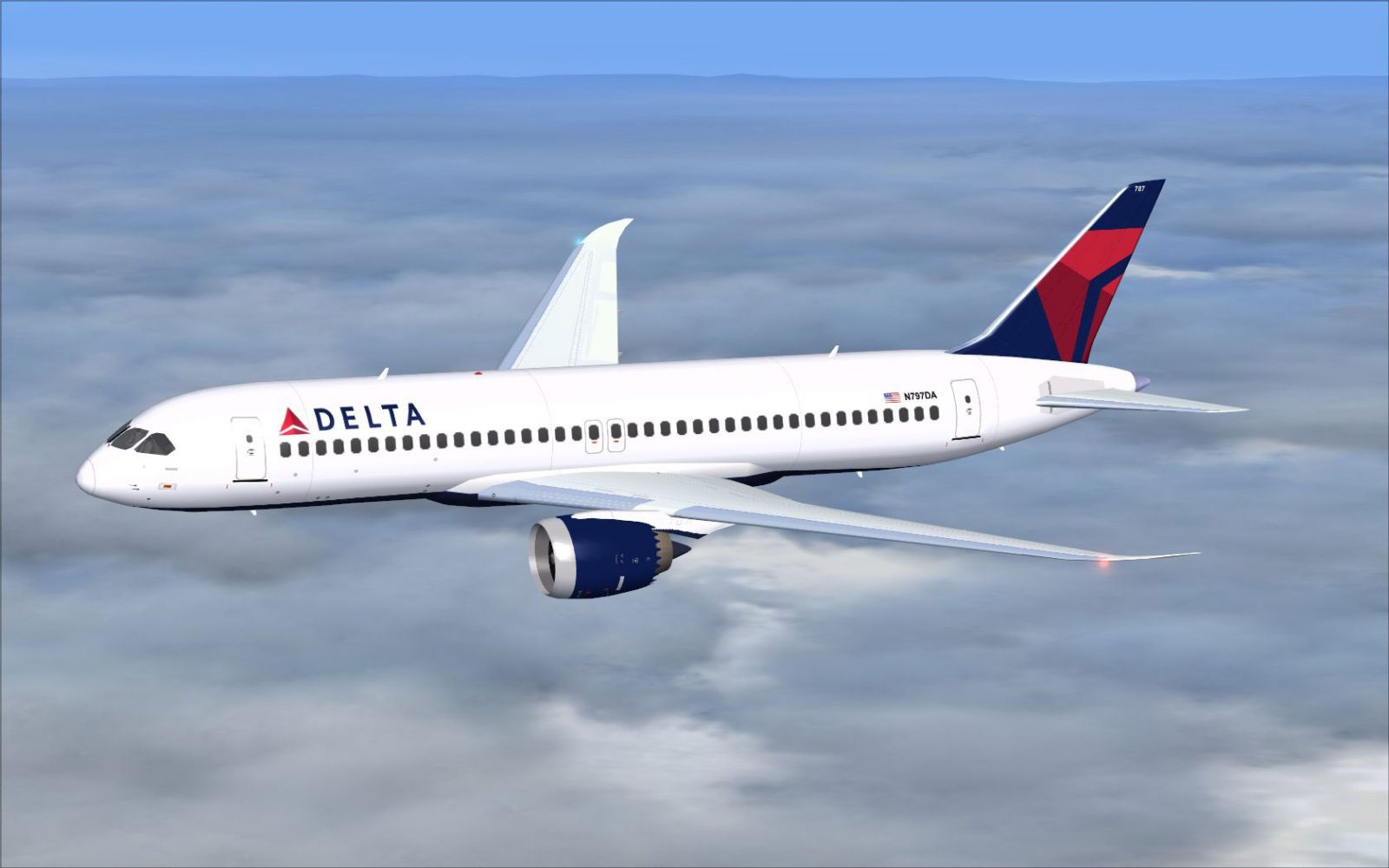 Delta Airlines Boeing 797 For Fsx