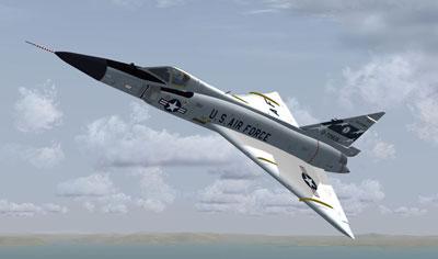 Razbam's F-102 Delta Dagger for FSX